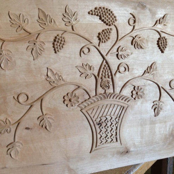 Las Vegas Interior Design custom carving